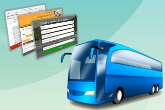 Online bus ticket booking software solutions