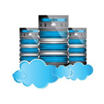 cloud and bigdata icon