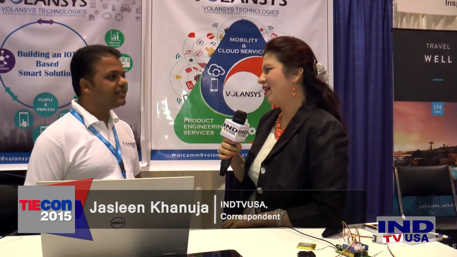 VOLANSYS AT TIECON 2015