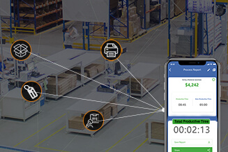 Mobile Powered Portable System for Warehouses